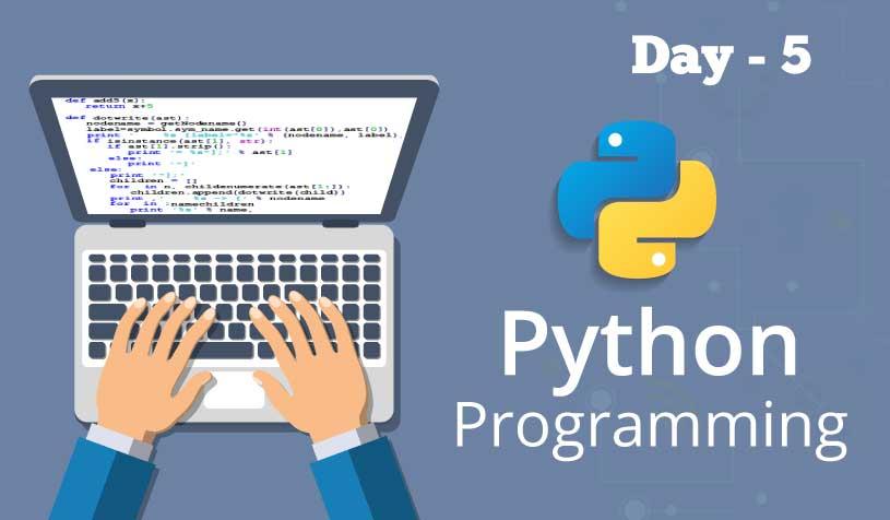 Python Day 5