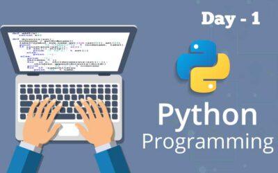 Python Day 1